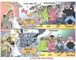 Secularism in India - A Tale of Two Cities