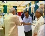The Shortest Handshake Ever in the World