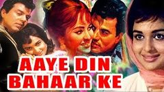 Aaye Din Bahar Ke (1966) Full Hindi Movie | Dharmendra Asha Parekh Balraj Sahni