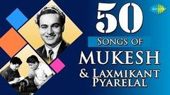VERY POPULAR OLD INDIAN BOLLYWOOD SONG - WO TERY PYAR KA GHUM - MUKESH