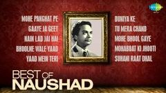 Best Songs Of Naushad - Indian Music Director - Old Hindi Songs