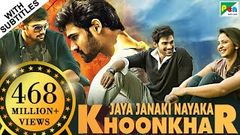 Jaya Janaki Nayaka KHOONKHAR | Full Hindi Dubbed Movie | Bellamkonda Sreenivas Rakul Preet Singh