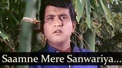 Saamne Mere Sanwariya - Sadhana - Manoj Kumar - Anita - Bollywood Old Songs - Lata Mangeshkar