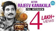 Rajiv Kanakala Full Interview - Frankly With TNR 4 Talking Movies with iDream 36
