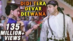 Didi Tera Devar Deewana - Madhuri Dixit Salman Khan - Bollywood Superhit Song - Hum Aapke Hain Koun