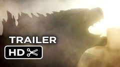 Godzilla Official Teaser Trailer 1 (2014) - Aaron Taylor-Johnson Elizabeth Olsen Movie HD