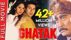 Ghatak (1996) Full Movie | Sunny Deol Meenakshi Amrish Puri Mamta Kulkarni
