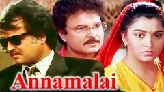 Annamalai | Tamil Full Movie | Rajinikanth Kushboo Sarath Babu