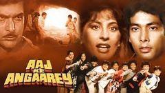 Aaj Ke Angaarey (1988) | Hemant Birje | Archana Puran Singh | Om Shivpuri | Bollywood old Movies