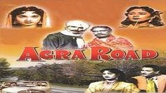 Agra Road (1957)   Hindi Full Movie   Classic Hindi Movies   Vijay Anand Movies