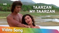 Tarzan My Tarzan Aaja Main Sikha Du Pyar - Kimi Katkar - Tarzan - Bollywood Songs - Alisha Chinoy
