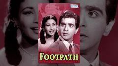 Full Hindi Movie FOOTPATH 1953 HD | Dilip Kumar Meena Kumari | Old Hindi Movies