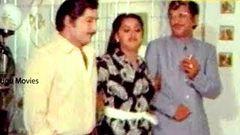 Dorikithe Dongalu Movie Scene Sobhan Babu - Vijaya Shanthi - Radha