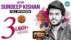 Actor Sundeep Kishan Exclusive Interview | Frankly With TNR 81 | Talking Movies With iDream