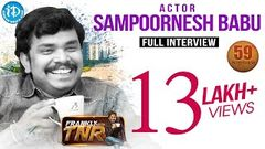 Sampoornesh Babu Exclusive Interview Frankly With TNR 59 Talking Movies With iDream 317