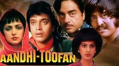 Aandhi Toofan   Full Movie   Mithun Chakraborty   Shatrughan Sinha   Hema Malini  Hindi Action Movie