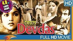 Devdas 1955 Hindi Old Classical Full Movie | Dilip Kumar Vyjayanthimala | Bollywood Full Movies