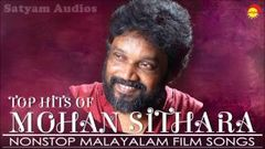 Top Hits of Mohan Sithara | Nonstop Malayalam Film Songs