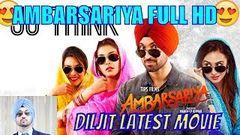 Jatt Ambarsariya Full Movie Diljit Dosanjh | punjabi movie 2019 | Jasleen Kaur | Kirat | Navneet |