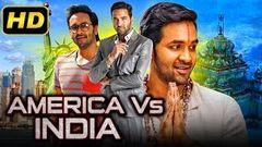 America Vs India 2 (2019) Telugu Hindi Dubbed Full Movie   Vishnu Manchu Brahmanandam
