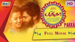 Pakka Tamil Full Movie HD | Vikram Prabhu Nikki Galrani Bindu Madhavi Soori | RajTv