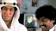 Lotiya Pathan kidnaps Madhuri Dixit I Tezaab Movie Scene