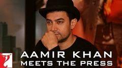 Aamir Khan meets the Press - DHOOM:3
