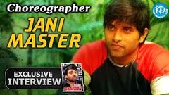 Choreographer Jani Master Exclusive Full Interview Talking Movies With iDream 58