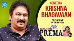 Comedian Krishna Bhagavaan Exclusive Interview | Dialogue With Prema | Celebration Of Life 45 403