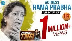 Actress Rama Prabha Exclusive Interview | Frankly With TNR 114 | Talking Movies