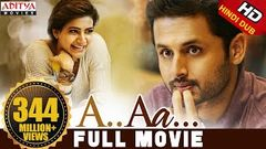 A Aa New Hindi Dubbed Full Movie | Nithiin Samantha | Trivikram