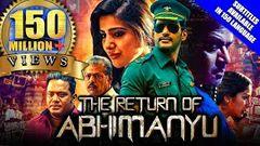 The Return of Abhimanyu (Irumbu Thirai) 2019 New Released Full Hindi Dubbed Movie | Vishal Samantha