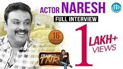 Actor Naresh Exclusive Interview - Frankly with TNR 16 | Talking Movies with iDream 128