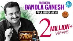 Bandla Ganesh Exclusive Interview Frankly With TNR 50th Interview Talking Movies 272