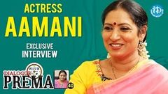 Actress Aamani Exclusive Interview Dialogue With Prema Celebration Of Life 40