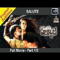Salute Telugu Full Movie Part 1 2 Vishal Nayanatara With English Subtitles