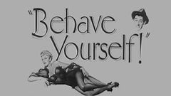 Behave Yourself (full length english comedy movie)