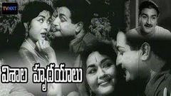 NTR Old Telugu Movies Full Length | Visala Hrudayalu Full Movie | South Indian Movies