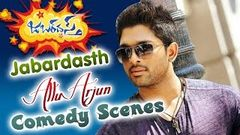 Allu Arjun Movies Back 2 Back Comedy Scenes Latest Telugu Comedy Scenes 2016