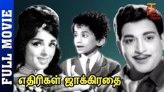 Ethirigal Jaggirathai Tamil Full Movie | V S Raghavan | Manohar | Old Tamil Movies