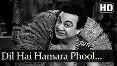 Dil Hai Hamara Phool Se Nazuk - Dara Singh - Faulad - Old Bollywood Songs - G S Kohli