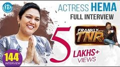 Actress Hema Dynamic Exclusive Interview Frankly With TNR 144