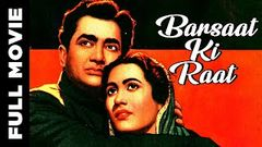 Barsaat Ki Raat 1960 I Bharat Bhushan Madhubala I Full Length Hindi Movie