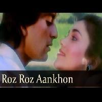 Roz Roz Aankhon Tale - Sanjay Dutt - Mandakini - Jeeva - Old Bollywood Songs - R D Burman