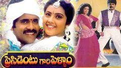 President Gari Pellam (1992) | Telugu Drama movie | Akkineni Nagarjuna Meena