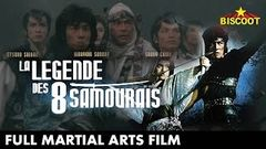 Legend Of Eight Samurai 1983 Movie | Japanese Historical Martial Arts Fantasy Film