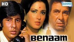 Benaam (1974) (HD) - Hindi Full Movie - Amitabh Bachchan | Moushumi Chatterjee - With Eng Subtitles