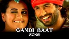 Gandi Baat Song ft Shahid Kapoor Prabhu Dheva & Sonakshi Sinha   R Rajkumar