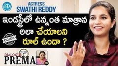 Actress Swathi Reddy Exclusive Interview Dialogue With Prema 72 Celebration Of Life