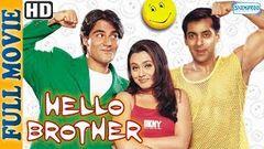 Hello Brother (1999) {HD} {Eng Subtitles} - Salman Khan - Rani Mukherjee - Superhit Comedy Movie
